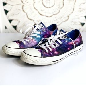 Converse Low Top Galaxy Lace Up Shoes